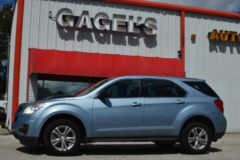2014 Chevrolet Equinox for sale at Gagel's Auto Sales in Gibsonton FL