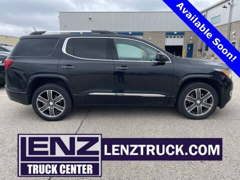 2019 GMC Acadia for sale at LENZ TRUCK CENTER in Fond Du Lac WI