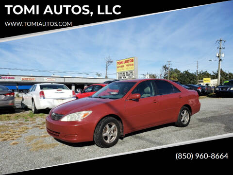 2004 Toyota Camry for sale at TOMI AUTOS, LLC in Panama City FL