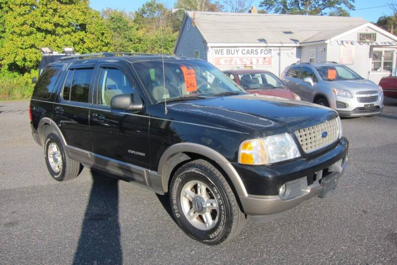 2002 Ford Explorer for sale at K & R Auto Sales,Inc in Quakertown PA