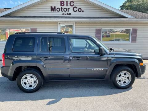 2016 Jeep Patriot for sale at Bic Motors in Jackson MO