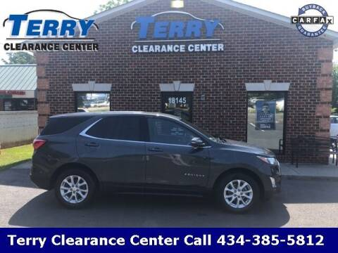 2018 Chevrolet Equinox for sale at Terry Clearance Center in Lynchburg VA