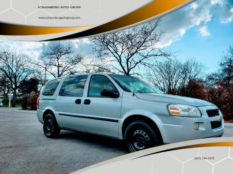 2007 Chevrolet Uplander for sale at Schaumburg Auto Group in Schaumburg IL