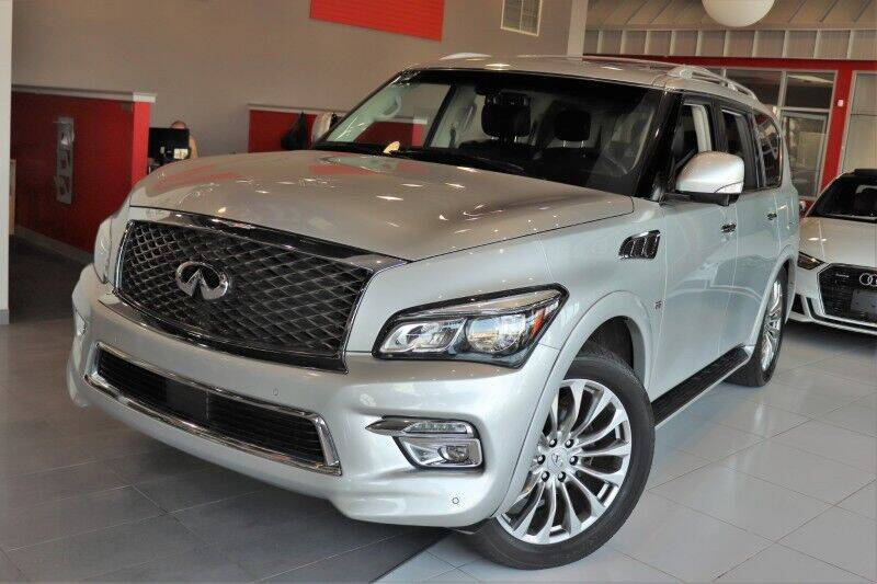 2015 Infiniti QX80 for sale at Quality Auto Center of Springfield in Springfield NJ