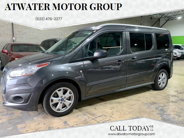 2016 Ford Transit Connect Wagon for sale at Atwater Motor Group in Phoenix AZ