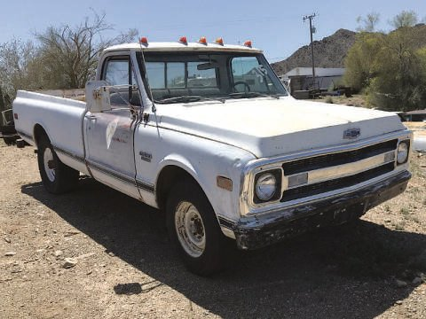 1970 Chevrolet C/K 20 Series for sale at Collector Car Channel - Desert Gardens Mobile Homes in Quartzsite AZ
