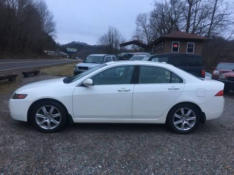 2005 Acura TSX for sale at R C MOTORS in Vilas NC