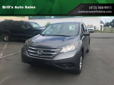 2014 Honda CR-V for sale at Brill's Auto Sales in Westfield MA