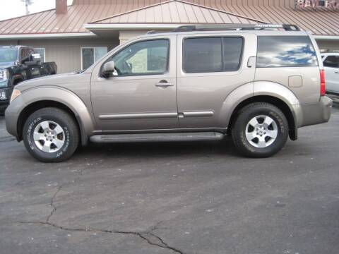 2006 Nissan Pathfinder for sale at Motors Inc in Mason MI