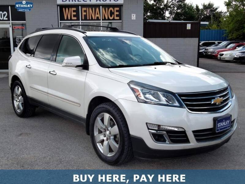 2015 Chevrolet Traverse for sale at Stanley Direct Auto in Mesquite TX
