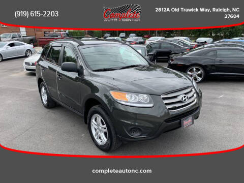 2012 Hyundai Santa Fe for sale at Complete Auto Center , Inc in Raleigh NC