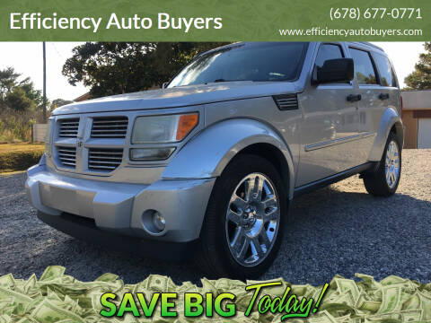 2011 Dodge Nitro for sale at Efficiency Auto Buyers in Milton GA