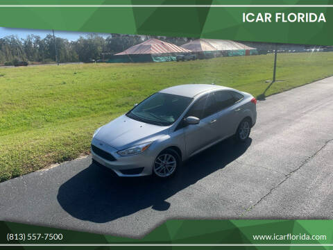 2018 Ford Focus for sale at ICar Florida in Lutz FL