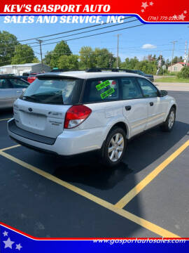 2009 Subaru Outback for sale at KEV'S GASPORT AUTO SALES AND SERVICE, INC in Gasport NY