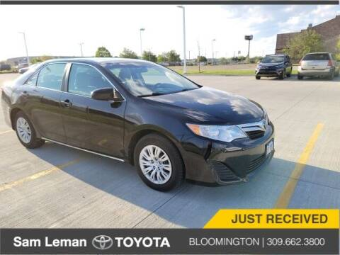 2012 Toyota Camry for sale at Sam Leman Toyota Bloomington in Bloomington IL