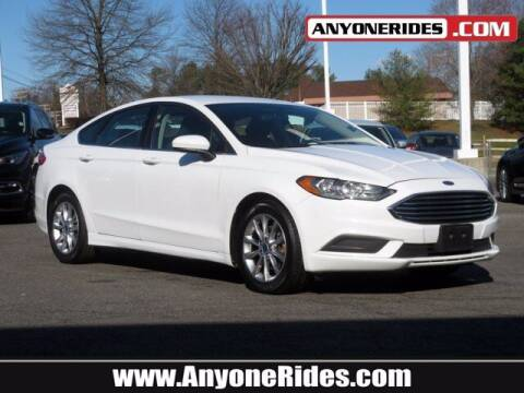 2017 Ford Fusion for sale at ANYONERIDES.COM in Kingsville MD