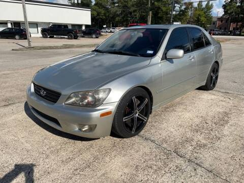 2004 Lexus IS 300 for sale at AUTO WOODLANDS in Magnolia TX