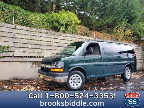 2010 Chevrolet Express Passenger for sale at BROOKS BIDDLE AUTOMOTIVE in Bothell WA