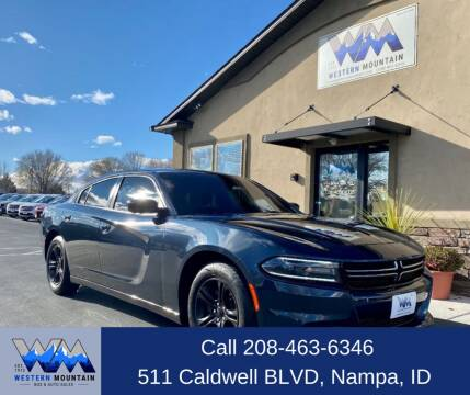 2016 Dodge Charger for sale at Western Mountain Bus & Auto Sales in Nampa ID