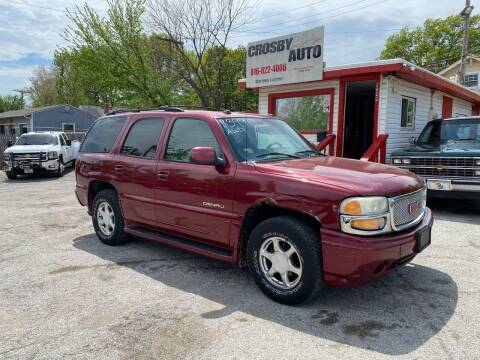 2004 GMC Yukon for sale at Crosby Auto LLC in Kansas City MO