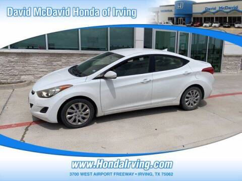 2012 Hyundai Elantra for sale at DAVID McDAVID HONDA OF IRVING in Irving TX