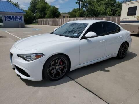 2017 Alfa Romeo Giulia for sale at Kell Auto Sales, Inc - Grace Street in Wichita Falls TX