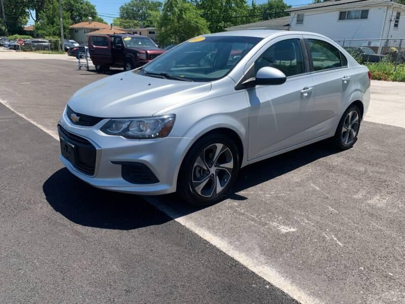 2017 Chevrolet Sonic for sale at Posen Motors in Posen IL