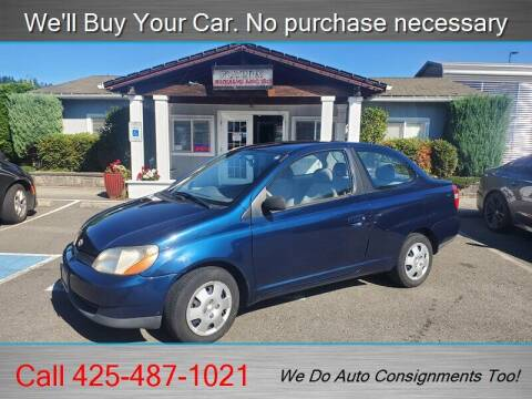 2001 Toyota ECHO for sale at Platinum Autos in Woodinville WA