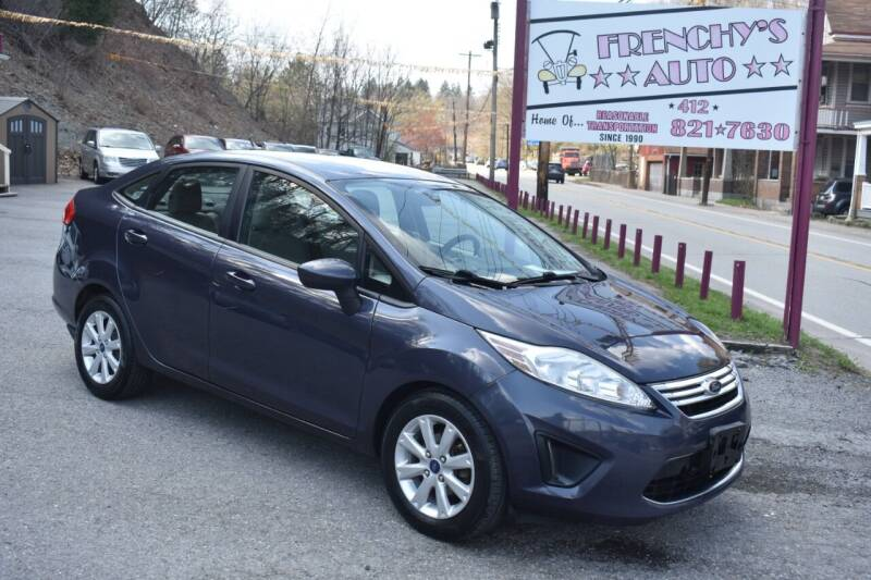 2012 Ford Fiesta for sale at Frenchy's Auto LLC. in Pittsburgh PA