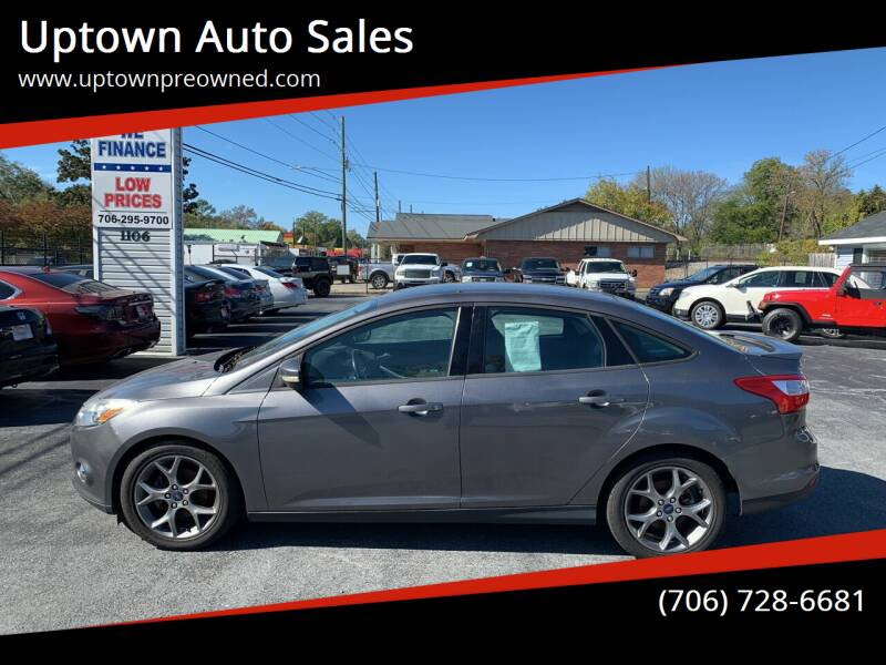 2013 Ford Focus for sale at Uptown Auto Sales in Rome GA