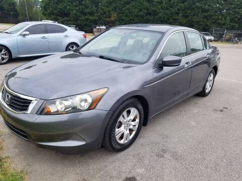2008 Honda Accord for sale at Pinnacle Acceptance Corp. in Franklinton NC