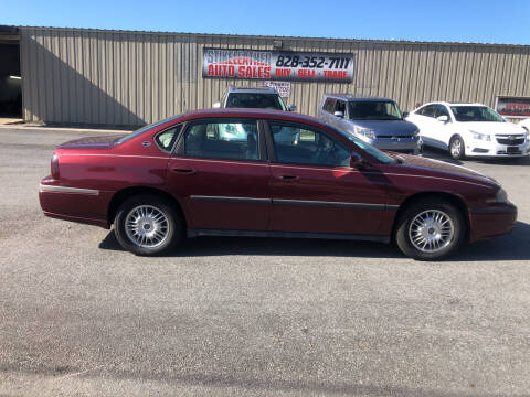 2002 Chevrolet Impala for sale at Stikeleather Auto Sales in Taylorsville NC