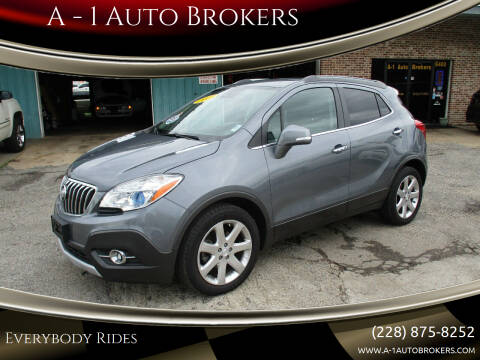 2015 Buick Encore for sale at A - 1 Auto Brokers in Ocean Springs MS