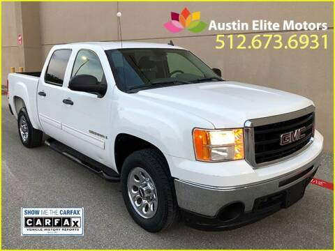 2009 GMC Sierra 1500 for sale at Austin Elite Motors in Austin TX