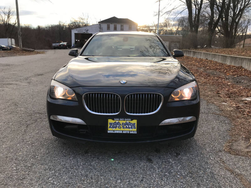 2010 BMW 7 Series for sale at Worldwide Auto Sales in Fall River MA