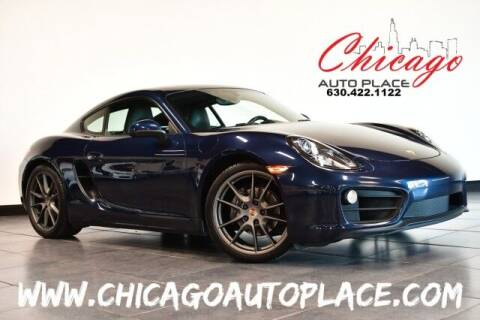 2015 Porsche Cayman for sale at Chicago Auto Place in Bensenville IL