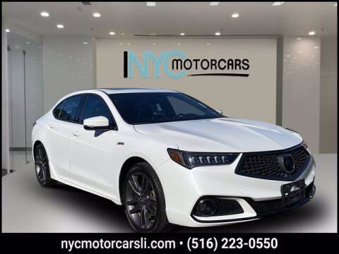 2019 Acura TLX for sale at NYC Motorcars in Freeport NY
