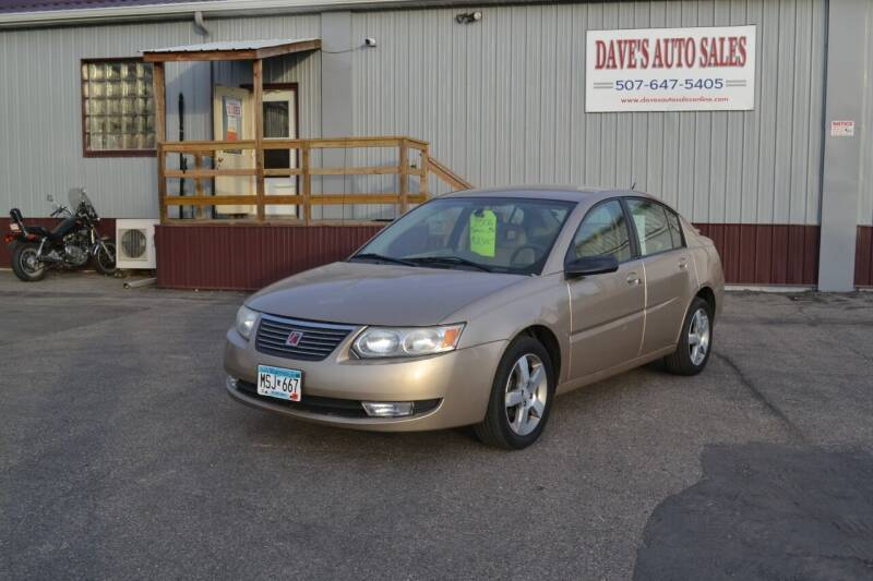 2006 Saturn Ion for sale at Dave's Auto Sales in Winthrop MN