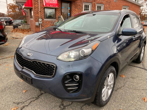 2018 Kia Sportage for sale at Ludlow Auto Sales in Ludlow MA
