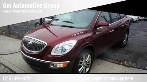 2008 Buick Enclave for sale at GM Automotive Group in Philadelphia PA