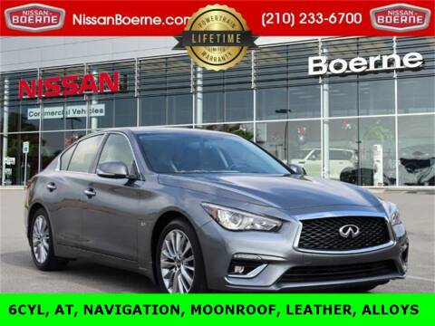 2018 Infiniti Q50 for sale at Nissan of Boerne in Boerne TX