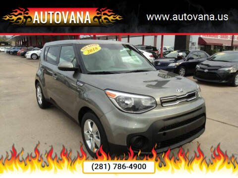 2018 Kia Soul for sale at AutoVana in Humble TX