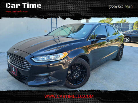 2014 Ford Fusion for sale at Car Time in Denver CO
