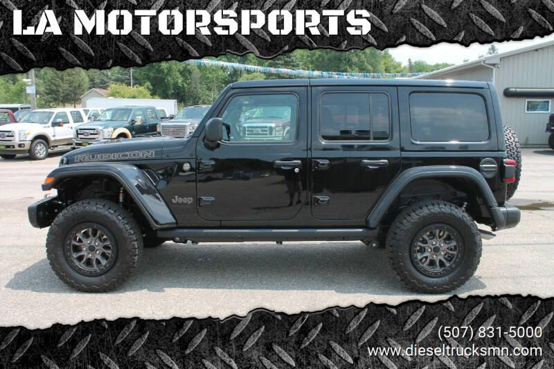 2021 Jeep Wrangler Unlimited for sale at LA MOTORSPORTS in Windom MN