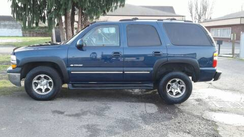 2003 Chevrolet Tahoe for sale at Car Guys in Kent WA