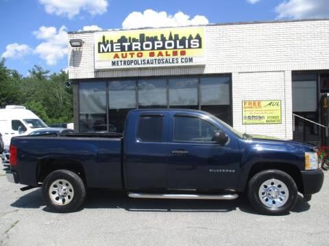 2010 Chevrolet Silverado 1500 for sale at Metropolis Auto Sales in Pelham NH