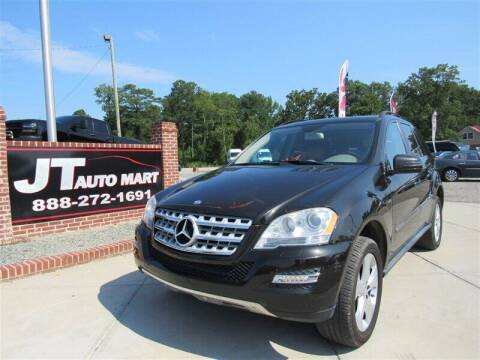 2011 Mercedes-Benz M-Class for sale at J T Auto Group in Sanford NC