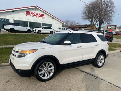 2012 Ford Explorer for sale at Efkamp Auto Sales LLC in Des Moines IA