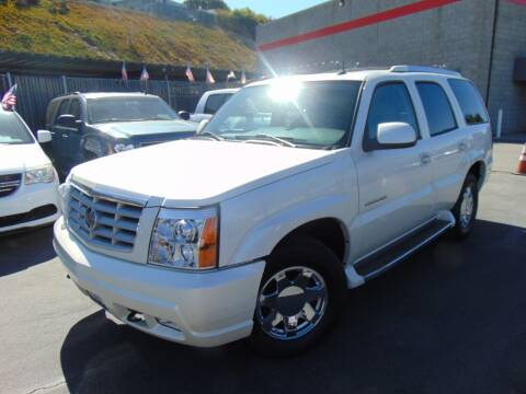 2004 Cadillac Escalade for sale at So Cal Performance in San Diego CA