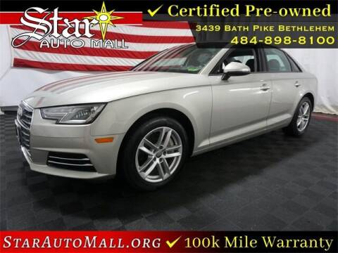 2017 Audi A4 for sale at STAR AUTO MALL 512 in Bethlehem PA